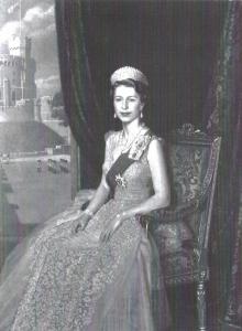 Portrait of HM Queen Elizabeth 11